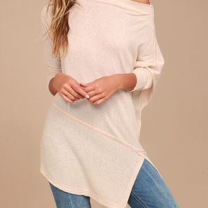 Free People asymmetrical tunic, new w/o tags